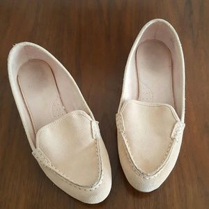 GAP faux suede loafers